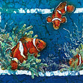 Clowning Around - Clownfish by Sue Duda