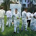 Club Cricket Tea Break by Zahra Majid