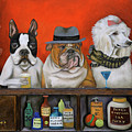 Club K9 by Leah Saulnier The Painting Maniac