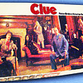 Clue Board Game Painting by Tony Rubino