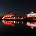 Clyde Twilight Reflections by Grant Glendinning