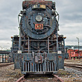 Cn Locomotive 47 - Front View by Kristia Adams