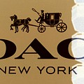 Coach New York Sign by Marianna Mills