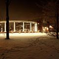 Coady International Institute Winter Night Nova Scotia by Brendan Riley