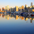 Coal Harbour Sunset 1 by Julius Reque