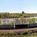 Coal Train by Noel Baebler
