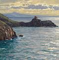 Coast At Amalfi by Albert Wenk
