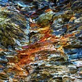 Coast - Color Of Rock by Mary Bassett