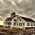 Coast Guard Beach Station by Bruce Gannon