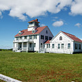 Coast Guard Building, Cape Cod by Michelle Himes