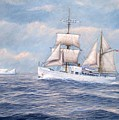 Coast Guard Cutter Northland by William H RaVell III