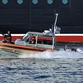 Coast Guard Patrol Boat On Duty by Bradford Martin