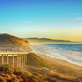 Coast Highway Del Mar by Art Wager