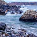 Coast Of Maine In Autumn by Doug Camara