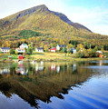 Coast Of Norway Reflections by William Gardner