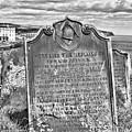 Coast - Whitby Freemason Grave by Mary Bassett