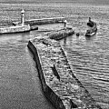 Coast - Whitby Harbour by Mary Bassett