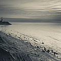 Coast With A Lighthouse by Panoramic Images