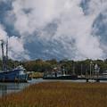 Coastal Island Town by Dale Powell