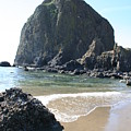 Coastal Landscape - Cannon Beach Afternoon - Scenic Lanscape by Quin Sweetman