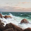 Coastal Landscape. by Celestial Images