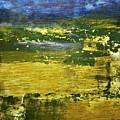 Coastal Marsh View Abstract by Sharon Eng