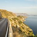 Coastal Road Near Dubrovnik In Croatia by Didier Marti