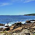 Coastline At Otter Point 5 by John Trommer