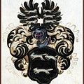 Coat Of Arms Black by Blanca Medina
