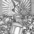 Coat Of Arms Of The House Of Dbcrer 1523 by Durer Albrecht