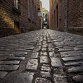 Cobbled Alley by Spencer Bawden