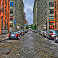 Cobblestone Brooklyn From Dumbo by Randy Aveille