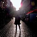 Cobblestone Path Home Paris by Felipe Adan Lerma