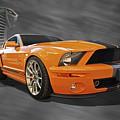 Cobra Power - Shelby Gt500 Mustang by Gill Billington