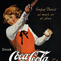 Coca-cola Ad, 1923 by Granger