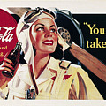 Coca-cola Ad, 1941 by Granger