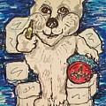 Coca Cola Bear by Geraldine Myszenski