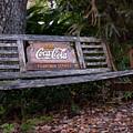 Coca Cola Bench by Edie Ann Mendenhall