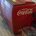Coca-cola Chest Cooler General Store by Terry DeLuco