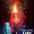 Coca-cola Forever Young 15 by James Sage