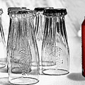 Coca-cola Glasses And Can - Selective Color By Kaye Menner by Kaye Menner