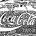 Coca-cola Maze Advertisement  by Yonatan Frimer Maze Artist