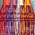 Coca Cola Newspaper Art Pop Art Pur Serie by Felix Von Altersheim
