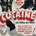Cocaine Movie Poster, 1940s by Granger
