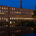 Cocheco Mills At Twilight Dover New Hampshire by Dawna Moore Photography