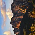 Cochise Head by Skip Hunt