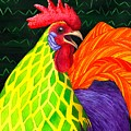 Cock A Doodle Dude II by Catherine G McElroy