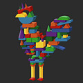 Cock Block Farm Rooster by Dan Pearce