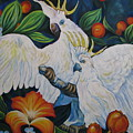 Cockatoo by Shirley C Checkos