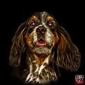 Cocker Spaniel Pop Art - 8249 - Bb by James Ahn